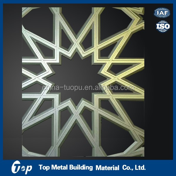 Pattern perforation aluminum sheet, facade aluminum decoration panel, pvdf construction building materials
