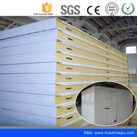Hot Sale insulated polyurethane cold room panel contact plate freezer