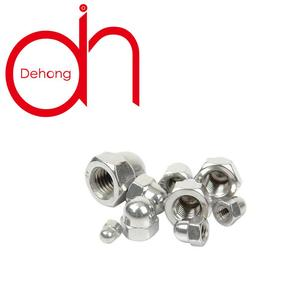 Haiyan Fastener DIN1587 Hexagon Domed Cap Nuts Decorative Cap Nuts