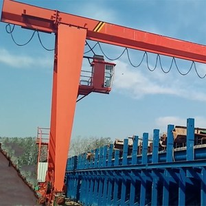 Electric remote control new heavy duty portal crane for port or harbour
