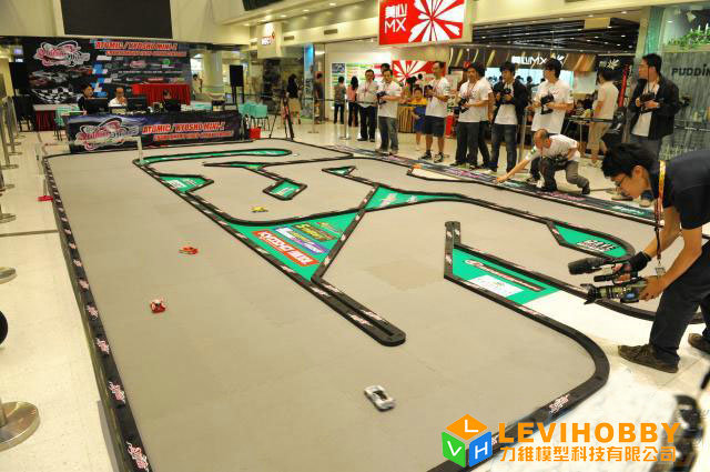 Rc Car Track: Kyosho Mini-z Rc Track 10x6m Drift Rc Car Race Track