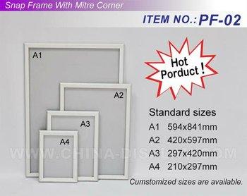 a1 a2 a3 a4 size aluminum poster frame buy a1 a2 a3 a4 size