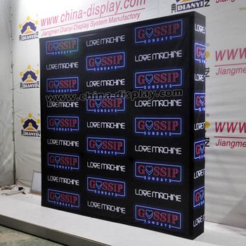 Fabric Exhibition Stand Zones : Backdrop display booth wall banner fabric pop up advertising display