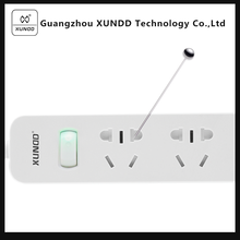 [XUNDD]UL-listed Space Saving 3 Vertical outlets and 3 USB Outlets surge protector power strip