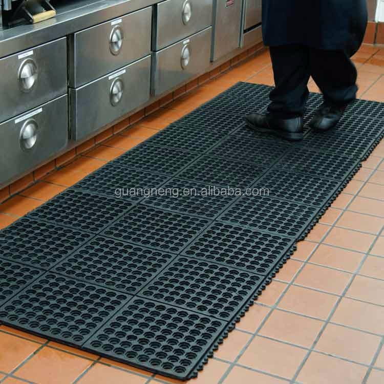 enclavamiento cocina drenaje piso de goma alfombra