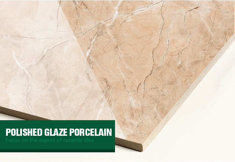 cheap pure color glossy polished tile glaze for ceramic new design Brown vein bathroom glazed ceramic floor tiles 400x400