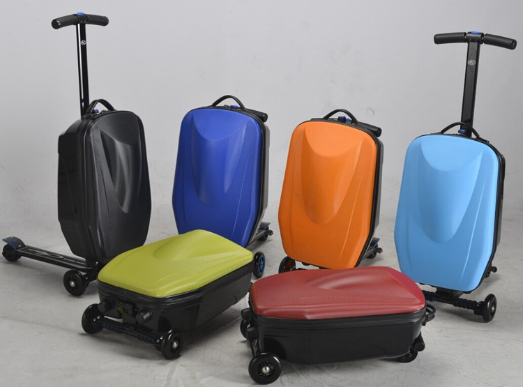3 Wheels Scooter Luggage/travel Trolley Luggage/airport Luggage ...