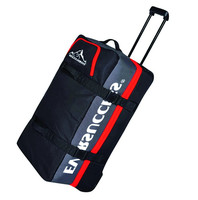 New Design Heavy Duty Large capacity Soft Travel Trolley Bag for Sports With Built in Trolley