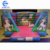 Kids lovely inflatable Unicorn bouncer, cheap inflatable jumping castle for sale