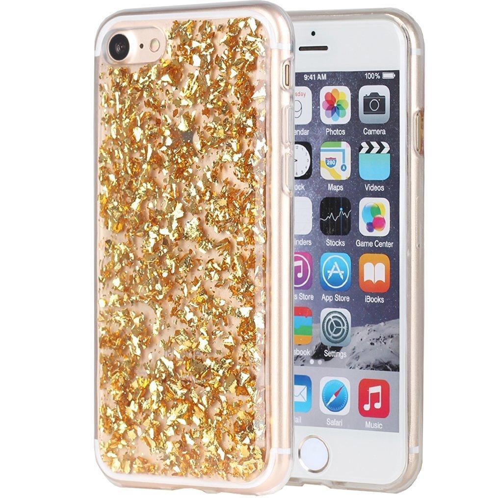 35b33335212 Cheap Gold Glitter Iphone 5 Case