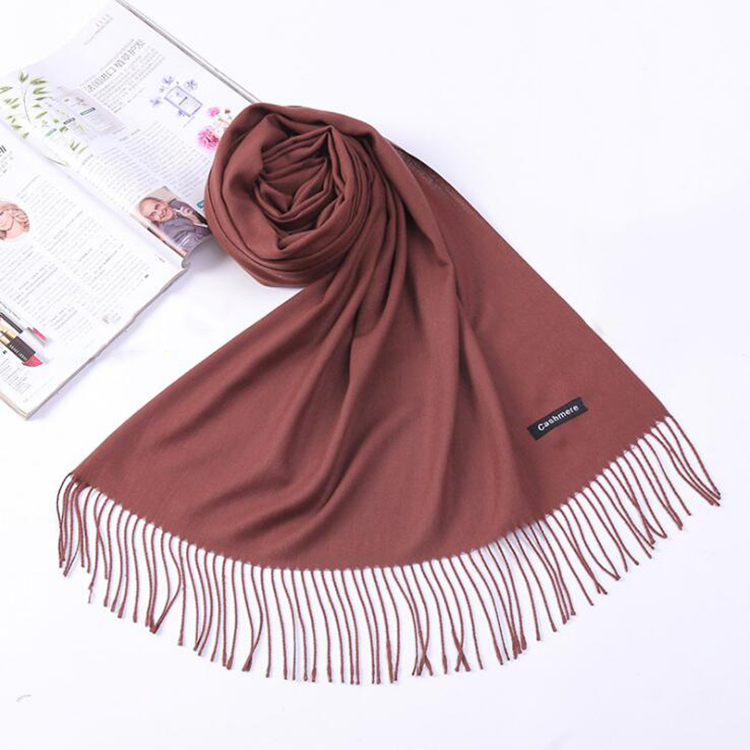Hot sale custom wholesale new fashion women hijab pashmina cashmere <strong>scarf</strong>