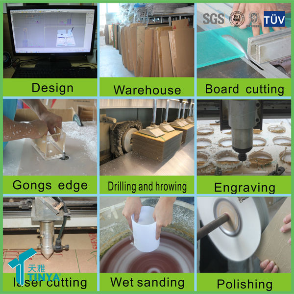 China Factory Wholesale Strong Custom Plastic Lucit Clear Acrylic Furniture Legs Acrylic Bench Leg