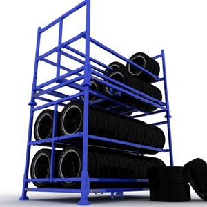 2019 China The Best Metal Shelf Pallet Stacking Frames Tire Rack - China Tire Rack, Metal Shelf Parts