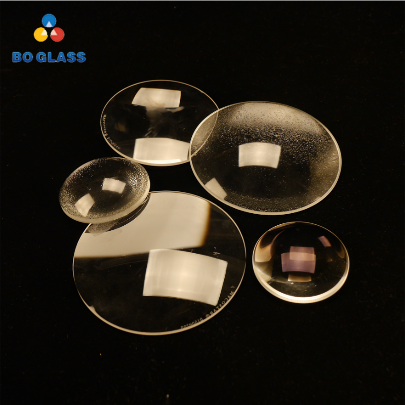 Customized Borosilicate Double Convex Glass Stage Light Lens