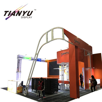 China manufacturer advertising equipment custom Printed Portable Trade Show Display 10x20 trade show display booth