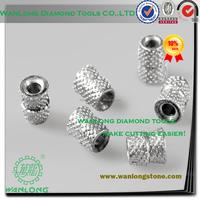 high efficiency vacuum brazed diamond wire cutters for stone cutting,diamond cutting wire saw