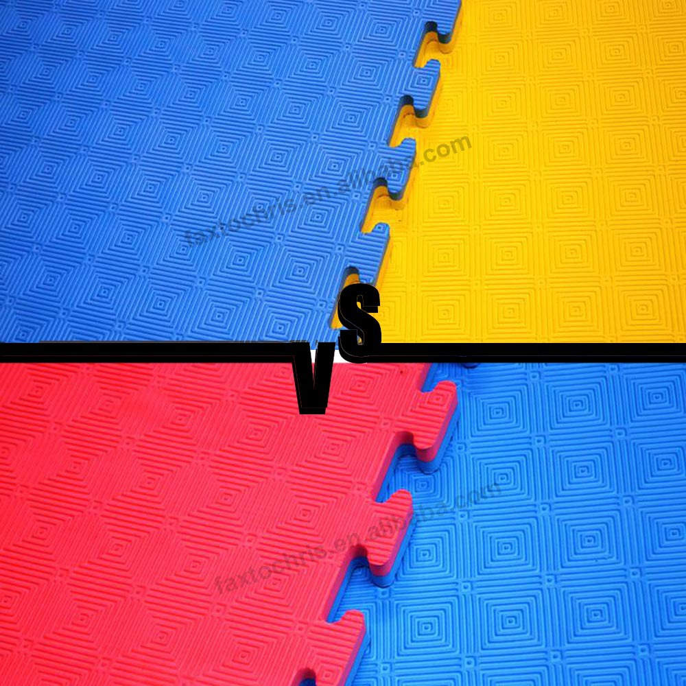 OEM double color taekwondo mats for sale
