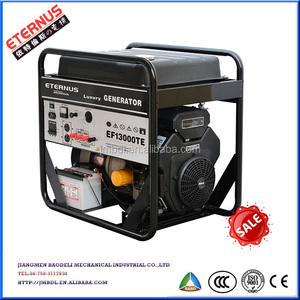 Open-frame One phase 10kW 50Hz gasoline generator EF13000E