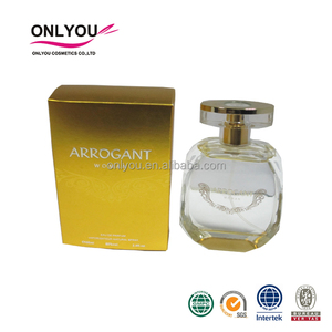 100ml Top Sale Golden Lemon Scent Perfumes UK , Fruity Fragrance