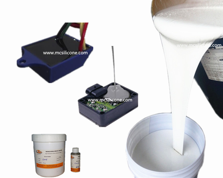 Rtv 2 Electronic Potting Compound Silicone Silicon For