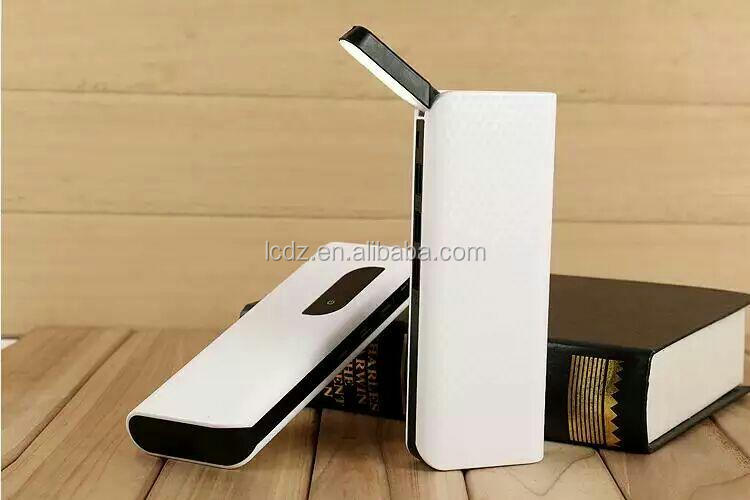 Desk Lamp Controlled by touching rechargeble power bank 13000mAh