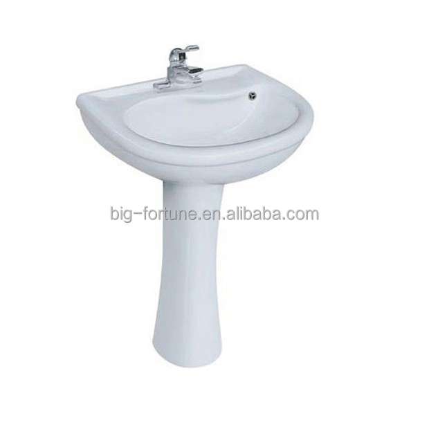 Chaozhou factory Floor mounted ceramic italian wash basin