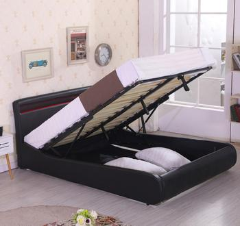 Admirable New Bedroom Furniture White Full Size Ottoman Leather Bed Led Storage Leather Bed Design Buy Hydraulic Lift Up Storage Bed Cheap White Leather Cjindustries Chair Design For Home Cjindustriesco