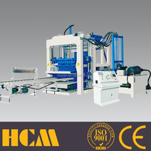 QT12-15 fully automatic stationary best brick making machine product line
