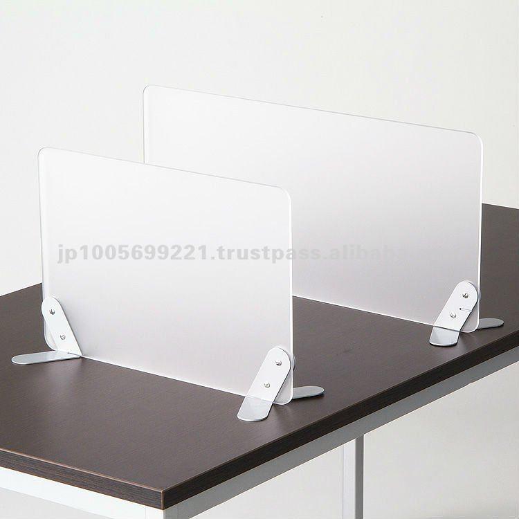 Japanese High Quality Frosted Acrylic Desk Divider   Buy Desk Divider,Desk  Screen,Desk Partition Product On Alibaba.com