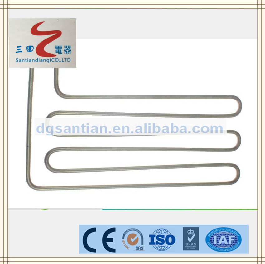 santian heating element 12kW Electric Fan Heater Heating Element Iron /stainless steel Electric heating product
