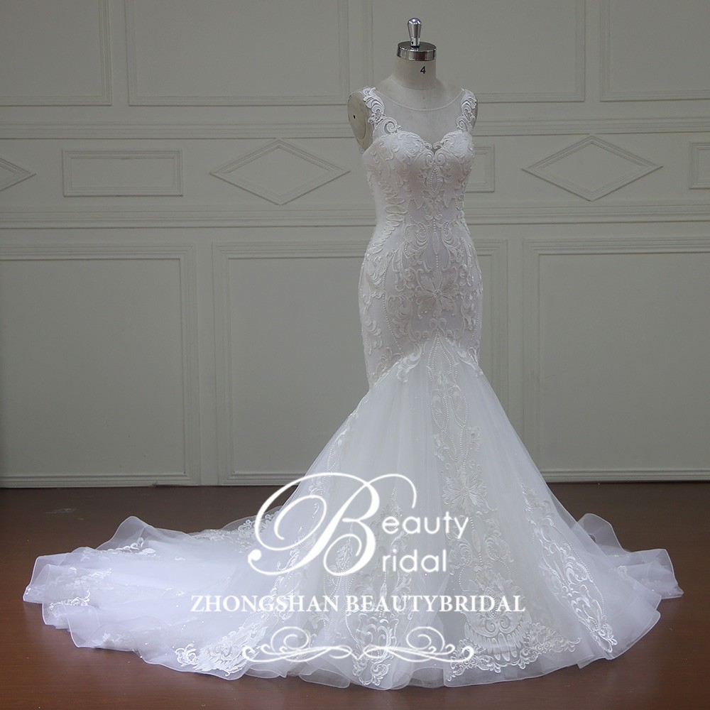 Luxury Mermaid Wedding Dresses