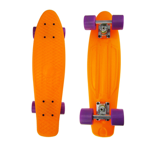 "New Multicolor Professional Boy Girl Retro Cruiser skate board complete plastic skateboard 27"" longboard Skate board"