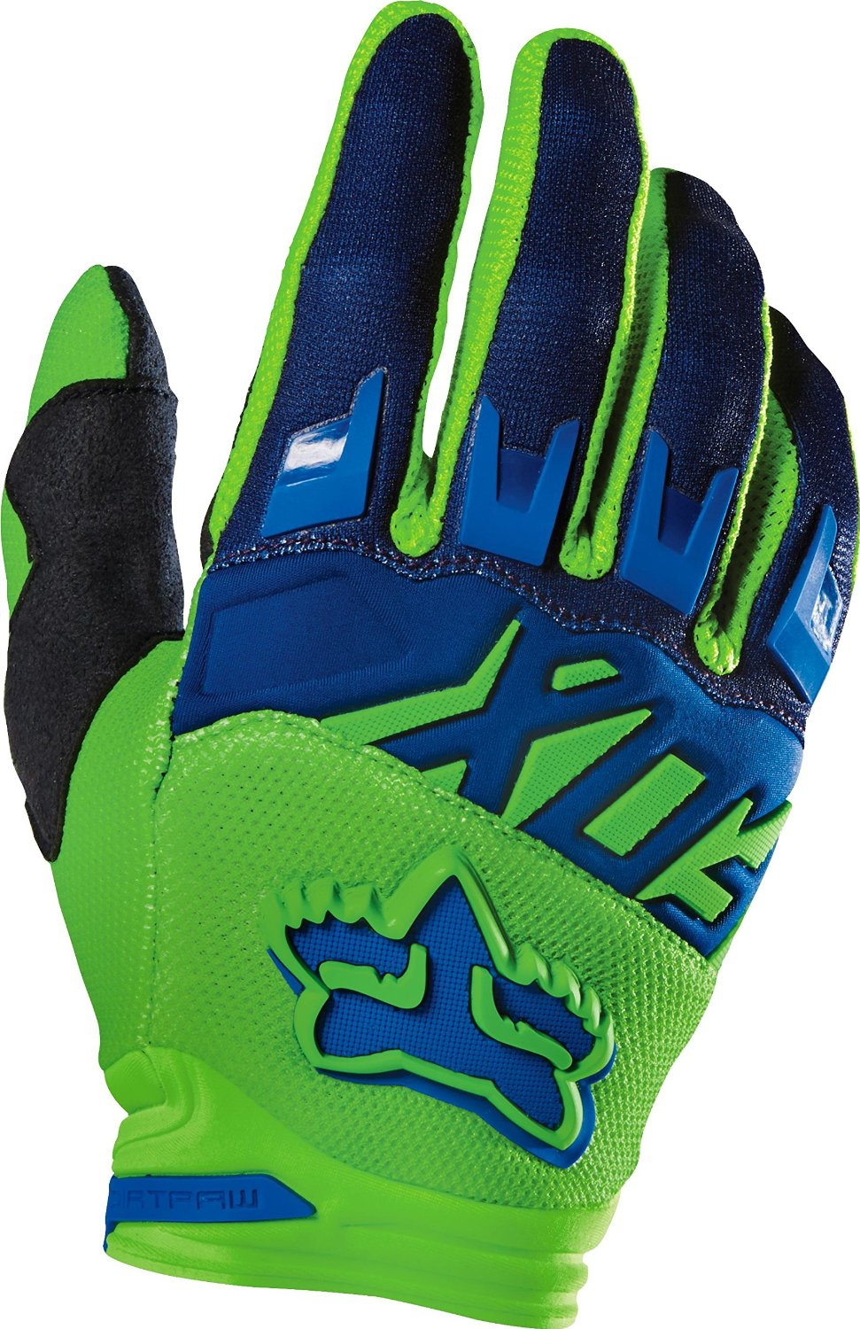 Fox Racing 2016 Dirtpaw Race Youth Boys MX Motorcycle Gloves - Flo Green