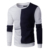 Wholesale lower MOQ men' Color blocking pullover sweatershirts