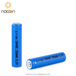 lithium ferro-phosphate battery 10440 320mAh 3.2V button lifepo4 battery AAA discharge current 3-5C