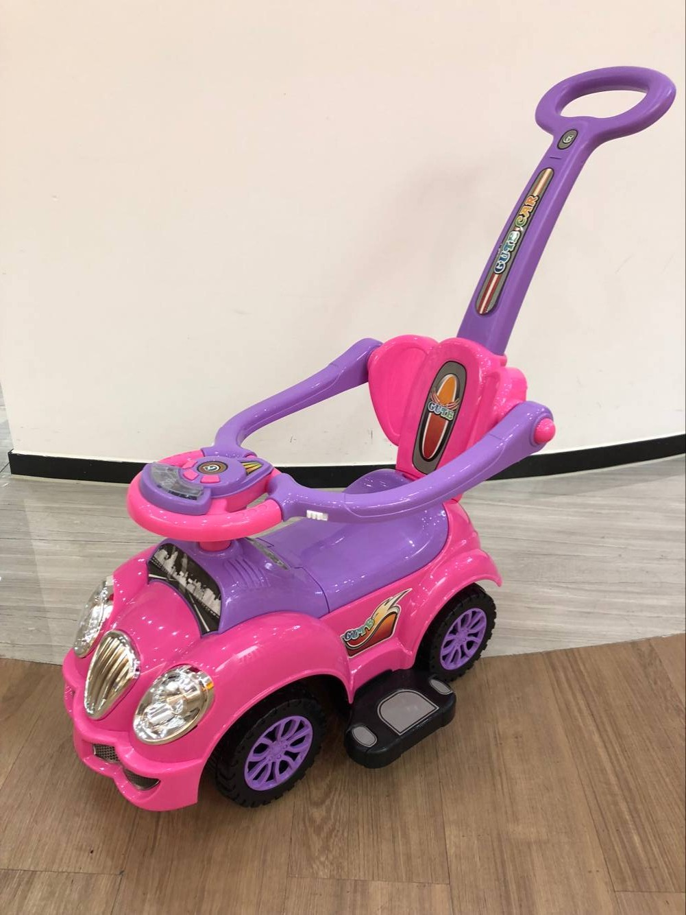 most popular baby ride on push car plastic 3 in 1 wholesales