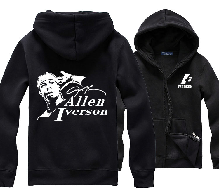 Allen Iverson 3 The Answer AI 76ers Print Original Design