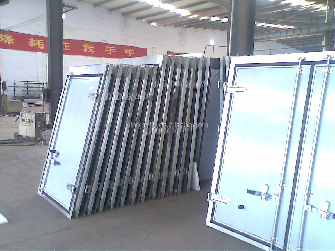 Dry Cargo Box Truck Van Body Buy Meat Hook Refrigerator Truck Body Dry Cargo Box Truck Body Product On Alibaba Com