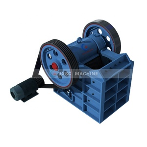Small capacity rock chrome ore mining plant rock chrome ore jaw crusher chrome shaking table