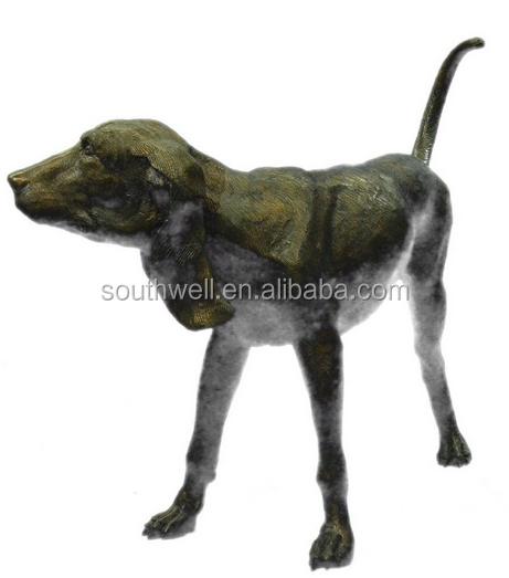 Comercio al por mayor de tama o natural estatuas de perros for Ahuyentar perros del jardin