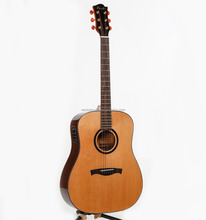 Wooden Acoustic Guitar Handmade all solid 41 inch high level acoustic guitar