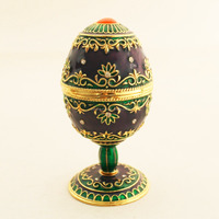 Celebration Jewelry Box easter standing eggs box ring boxes