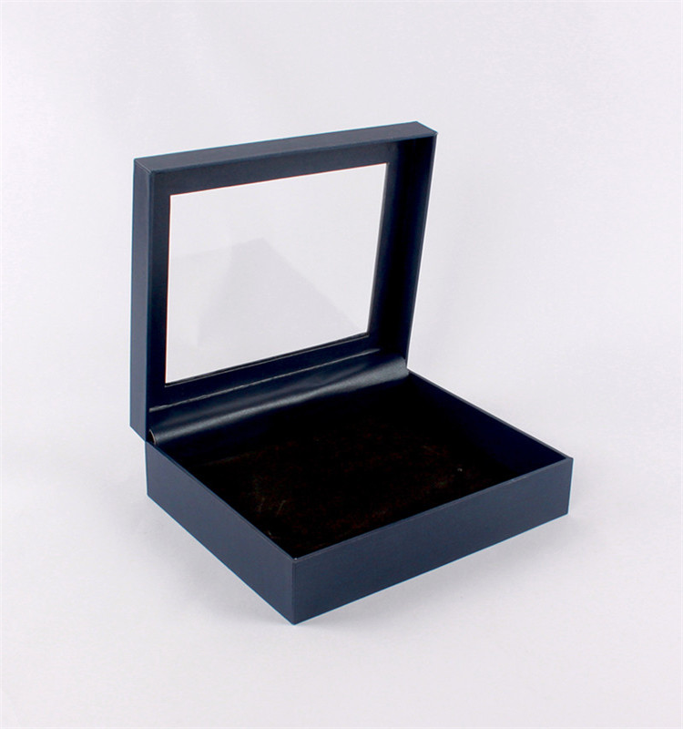 Professional Production Cardboard Jewelry Box With Handleand Window
