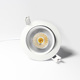 2017 LED Light Source and Aluminum Alloy Lamp Body Material Rotatable and Dimmable 10w 1100lm 95mm COB led downlight