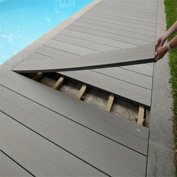 Outside Terrace Floor Garden Wpc Deck Flooring Planks Buy