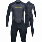 Men's back zip custom design fullsuit 3mm diving wet suits