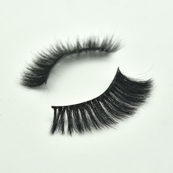 3d horse hair eylelashes with packaging boxes Custom Brand  Horse Hair Eyelashes Wholesale eyelash Faux lash