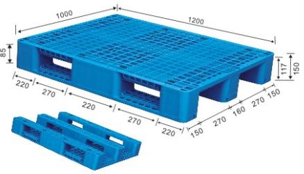 1200x1000mm Standard Pallet Dimensions