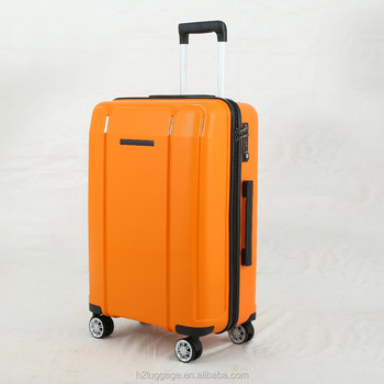Whole Pp Trolley Bag Travelling Luggage Wheeled Flight Case Hard Trolly Cabin Suitcase