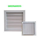 Customized Size Available Square Return Air Louver Air Vent with Mesh Filter